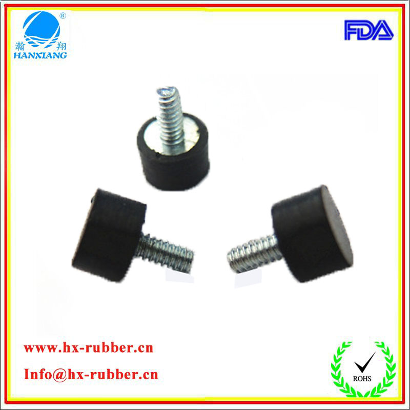 custom made injection rubber feet/rubber parts