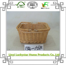 hot selling fancy gift wicker vegetable basket
