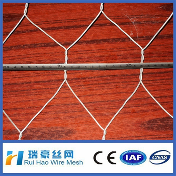 low price high quality hexagonal retaining wall wire netting