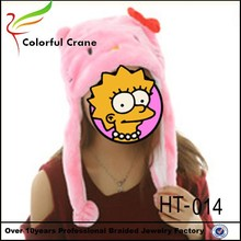 women's free knit pattern for adult animal knitted hat earflaps