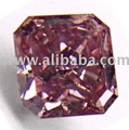 0.49carat Deep purplish pink SI2 color enhanced diamond