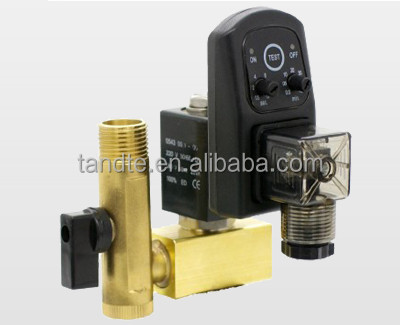 "Normally closed 0-10bar 1/2"" Timer Auto Drain solenoid valve"