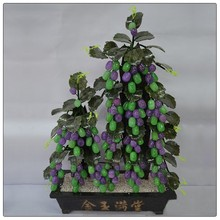 Large size natural fruit tree , jade money tree