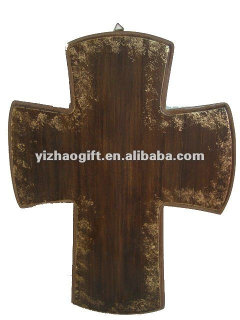 china wooden decorative small crosses for craft