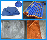 Multifunctional tarpaulin with eyelets for wholesales