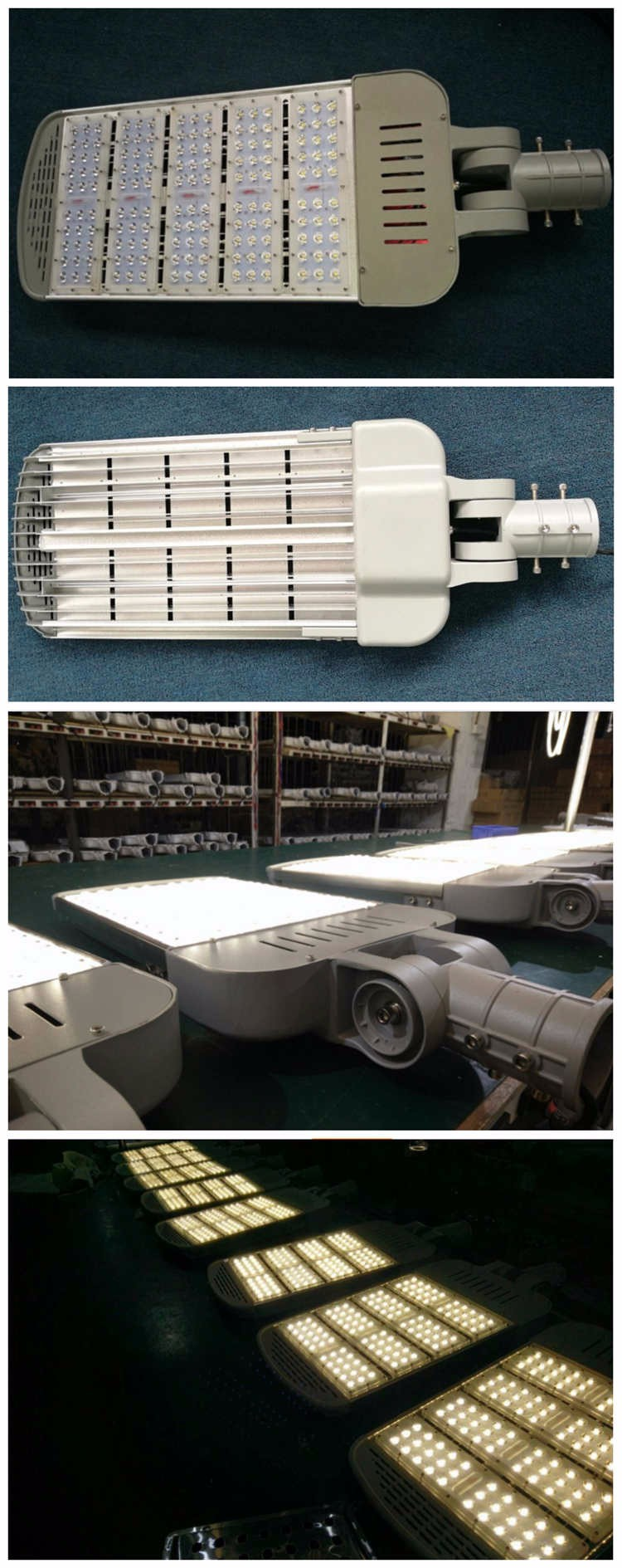 adjustable street light 130lm/w 150w 200w led street light
