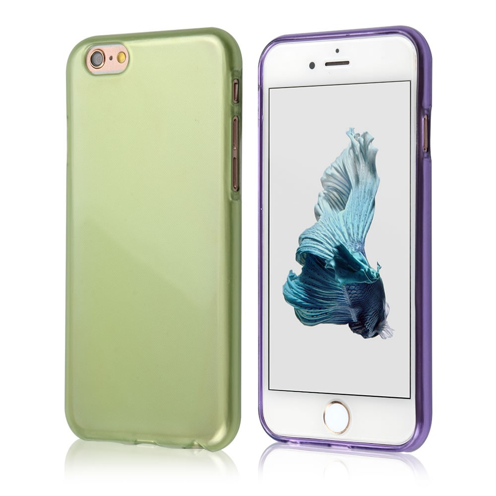 C&T Ultra Slim Premium Durable Soft TPU Rubber Silicone Gel Flexible Skin Cover Case for Apple iPhone 6 4.7 Inch