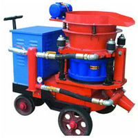 Civil Engineering Construction Shotcrete Machine Wet Spraying Machinery