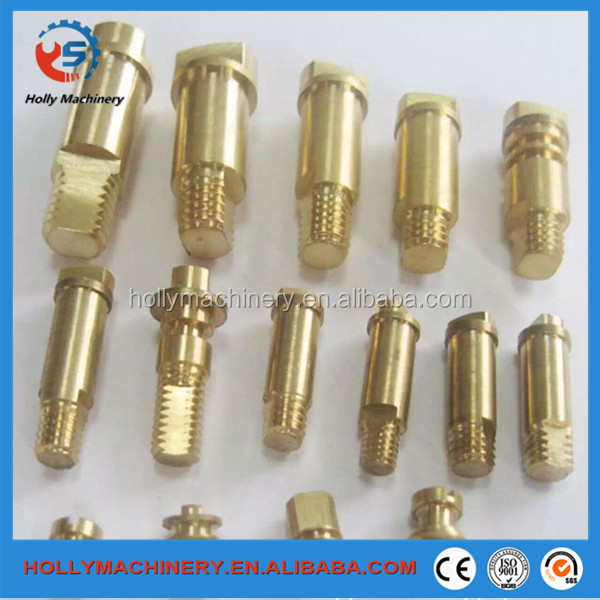 Long hollow shaft brass clevis pins c3604 material machined part