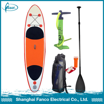Gold supplier by sea racing plastic sup stand up paddle board surfboard