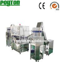 Top precious for disposable syringe machine