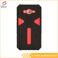 Wholesale armor cell phone case for Samsung J7 with multi-color pc tpu combo case