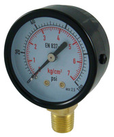Air pressure gauge, dry type