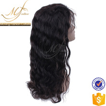 2017 new arrival soft loose wave 100% human hair full lace wigs