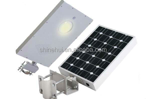 Outdoor waterproof solar garden light 12w with CE