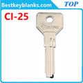 E319 Painted door key blanks suppliers Ci25 in china