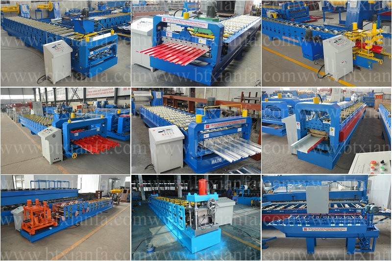 New Type Galvanized Steel Sheet Keel Roll Forming Machinery
