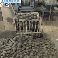 Factory low price steel plant si briquette 50 pressed by pure metal silicon slag powder