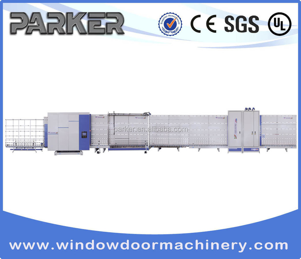 blind inside double glass window Double triple Glass Production Line Parker Machine IGV27-s
