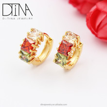 dtina turkish copper jewelry brand earring gemstone