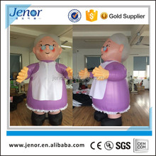 Birthday party decoration inflatable grandmother cartoon characters