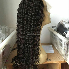 7A Glueless Full Lace Human Hair Wigs For Black Women Brazilian Virgin Hair Kinky Curly Lace Front Wig 8-24inch