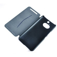hot sale customs genuine leather cheap mobile phone case for HTC M9+