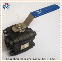 high quality forged steel class 800 ball valve