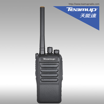 Good quality Teamup T5 UHF 5W 16 CH handheld two way radio with cheap price
