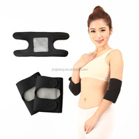 neoprene Adjustable Elastic Soft Tourmaline arm elbow wraps / pads Magnetic Self-Heating Elbow Brace