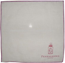 Soft 100% Cotton wholesale ladies plain white handkerchief