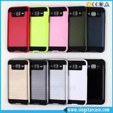 Wholesale Hair Line Armor Phone Case For Alcatel One Touch Fierce XL 5054, Soft Hard Cover For Alcatel Fierce XL Case