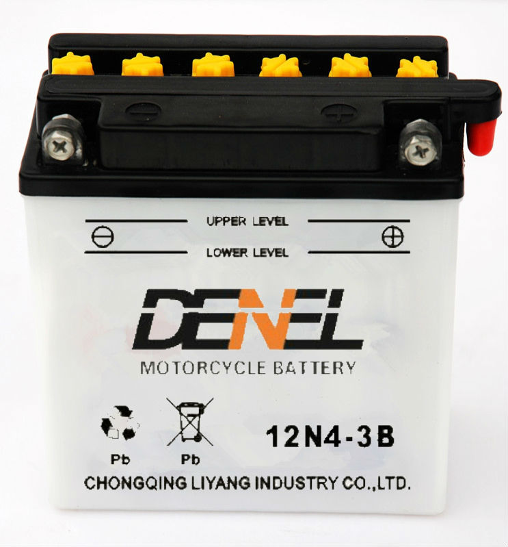 12v4ah High Quality Deep Cycle motorcycle battery/ street bike battey manufacturer