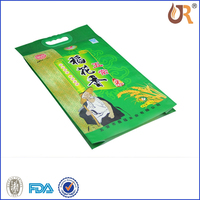 Wholesale factory price colorful printed PA/PE laminated material 5kg rice bag