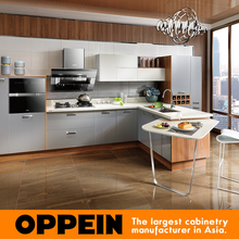 OPPEIN hot sell new imported acrylic kitchen cabinets from china