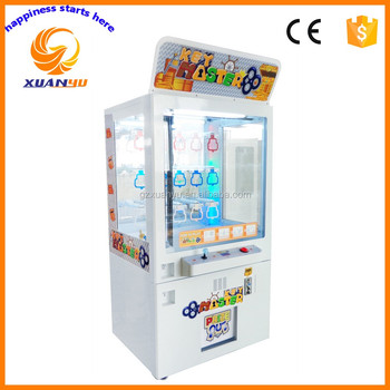 Top 1 selling coin pusher claw crane machine arcade key master game machine for shopping mall