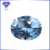 Factory Wholesale Aquamarine Bluish Dark Spinel #109 Brilliant Cut Oval Shape 57 Facets Synthetic Spinel Gemstone