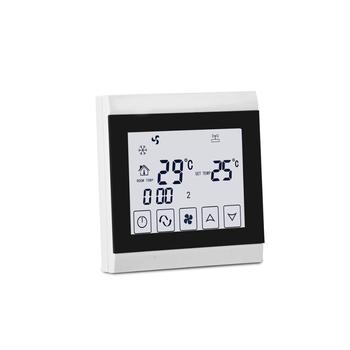 Air conditioning LCD display touch screen 2-pipe thermostat