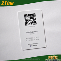 custom size QR code business card/paper business card/cotton paper business cards