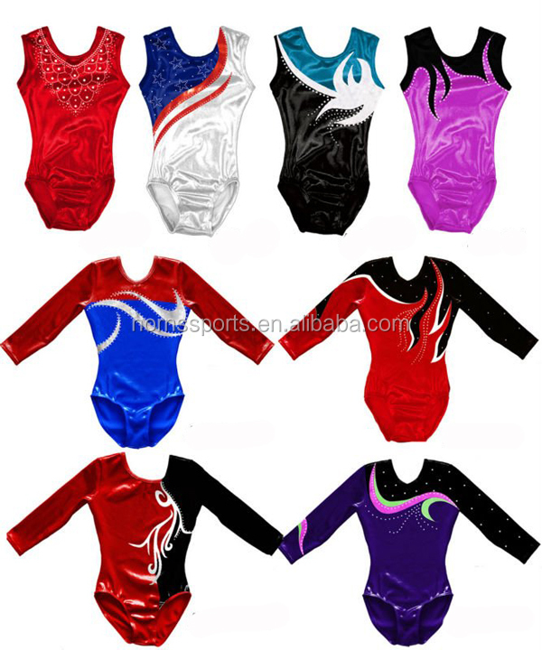 Top Competition Gymnastic Girls Leotards For Sale