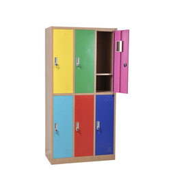 school furniture 6 door steel cabinet clothes/stainless steel locker for sale