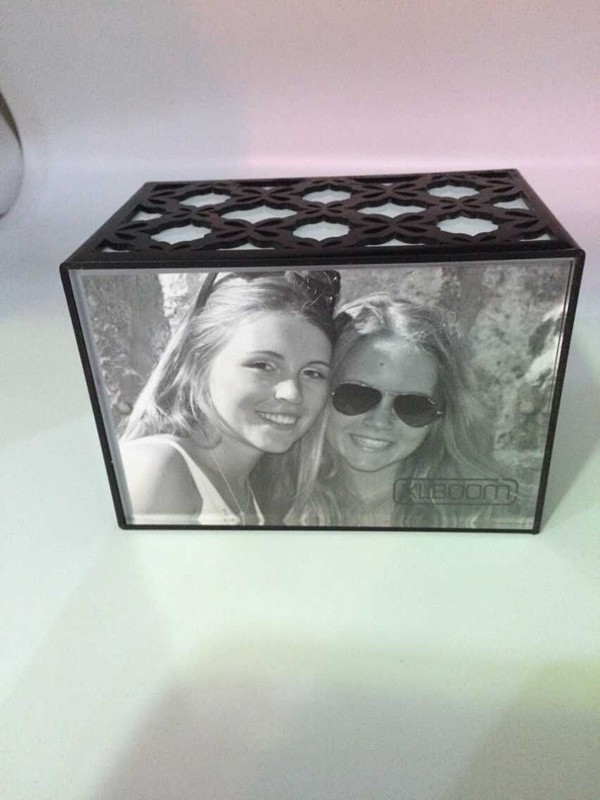 acrylic led lighted picture photo frames box wholesale