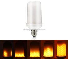 5W 7W 220V 110V led flicker flame bulb E26 E27 Flame Effect Fire led flame bulb