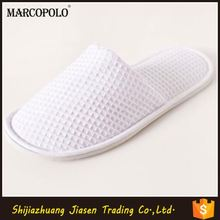 embroidery hotel printing soft hotel waffle slipper