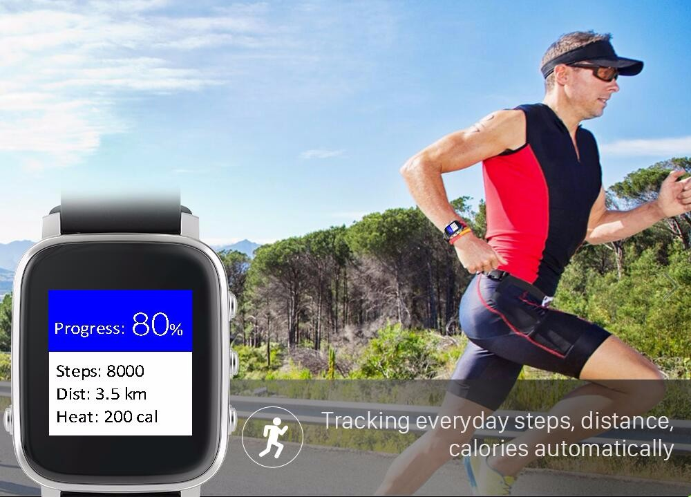 Factory price IP67 Waterproof Bluetooth 4.0 Sports Smart Watch