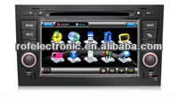 Rofaudio car entertainment dvd navigation for Audi A4 with Bluetooth