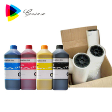 Super color printing ink GEN5 printhead Sublimation ink for Locor FLY-195 printer