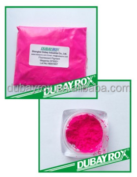 Magenta Shining Fluorescent Pigment for Paint/Plastic/Ink