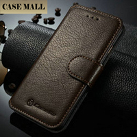 CaseMe Brand Case/CaseMall For iPhone 6 6S Genuine Leather Cheap Phone Case 5 Colors