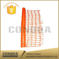 High Quality PE Orange and colored Plastic Safety Fence